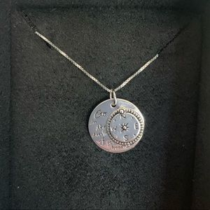 Inspirational Silver Necklace